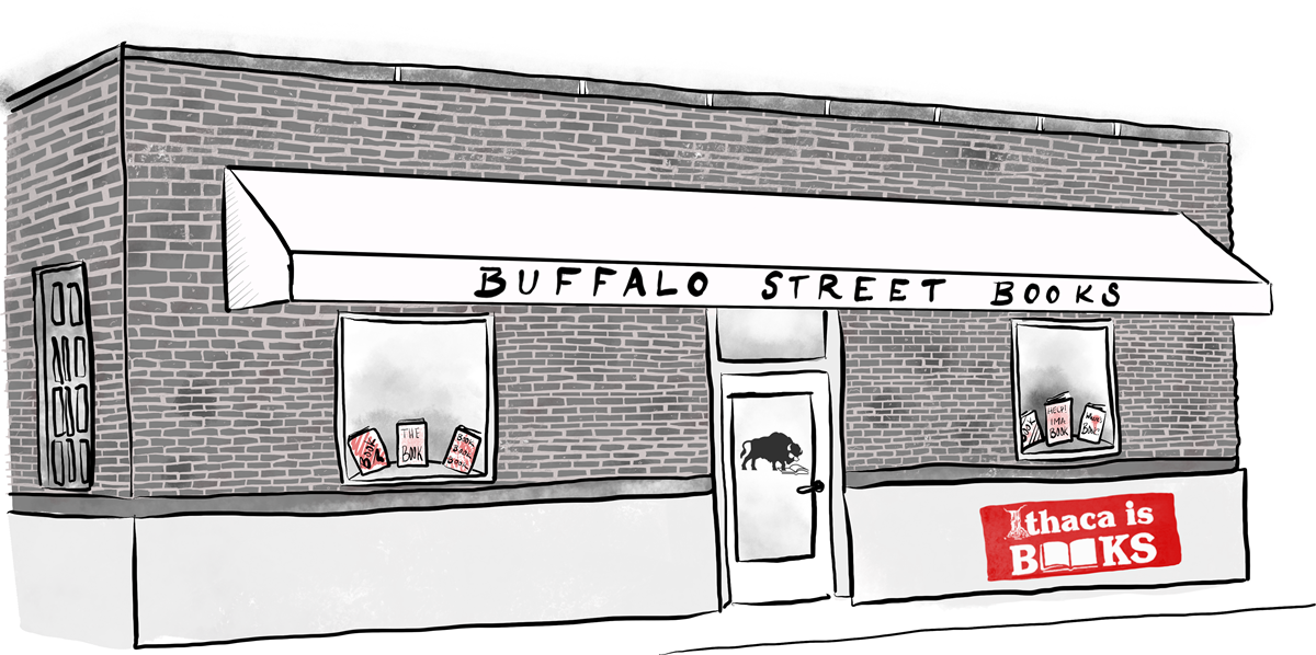 Buffalo Street Books Illustration - Footer